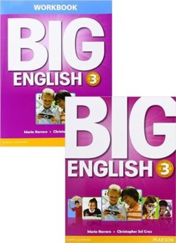 BIG ENGLISH 3 SB W/STIX + WB W/AUDIO