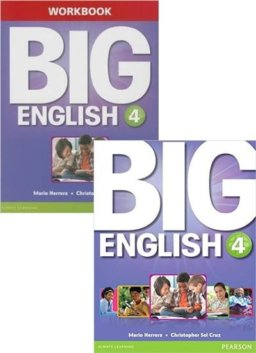 BIG ENGLISH 4 SB W/STIX + WB W/AUDIO