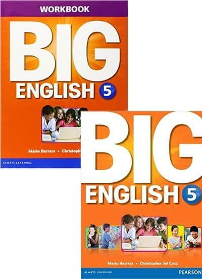 BIG ENGLISH 5 SB W/STIX + WB W/AUDIO