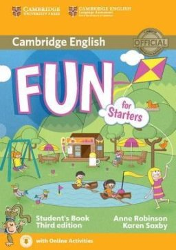 FUN FOR STARTERS STUDENT'S BOOK WITH AUDIO WITH ONLINE ACTIVITIES 3D
