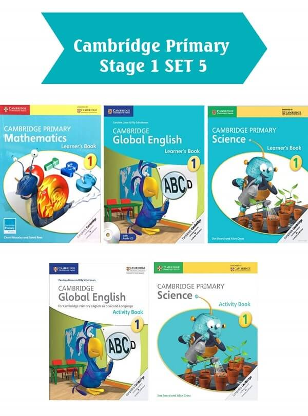 Bộ sách Cambridge Primary Stage 1 set 5