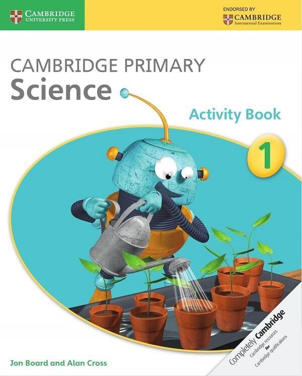 Cambridge Primary Science luôn là quyển sách được bán chạy nhất