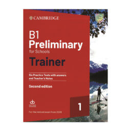 B1 Preliminary for Schools Trainer 1 2020