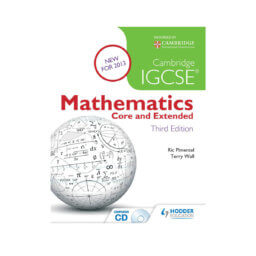 Cambridge IGCSE Mathematics Core and Extended - CB 3rd