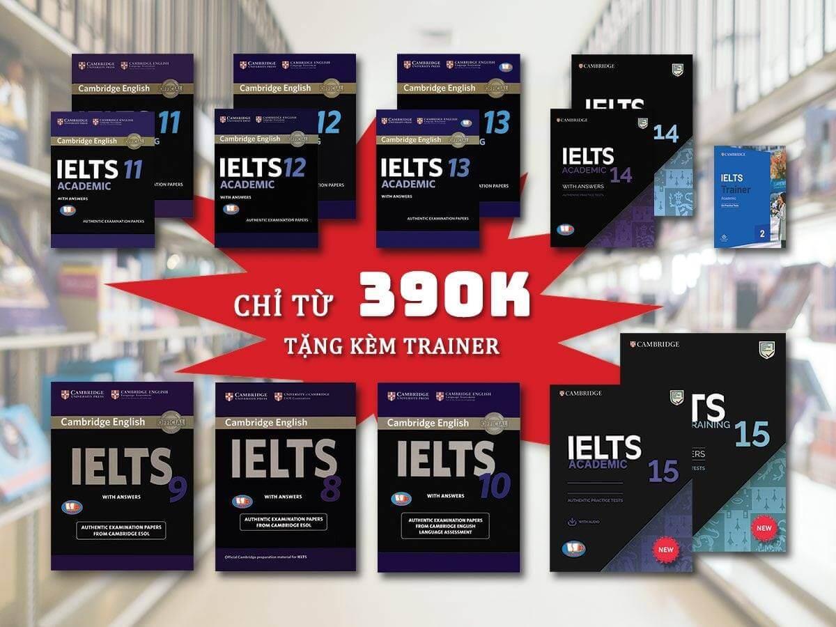 Cambridge English IELTS 7 là nguồn tham khảo quan trọng.