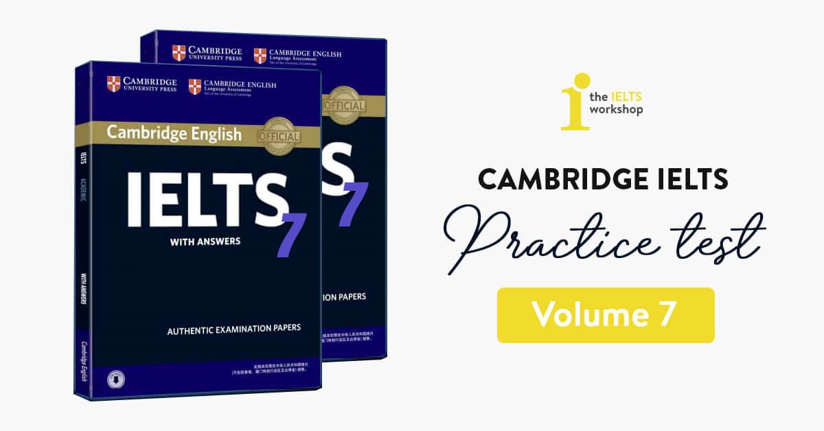 Sách Cambridge English IELTS 7