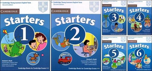 Bộ sách Cambridge starters là loại sách gì?
