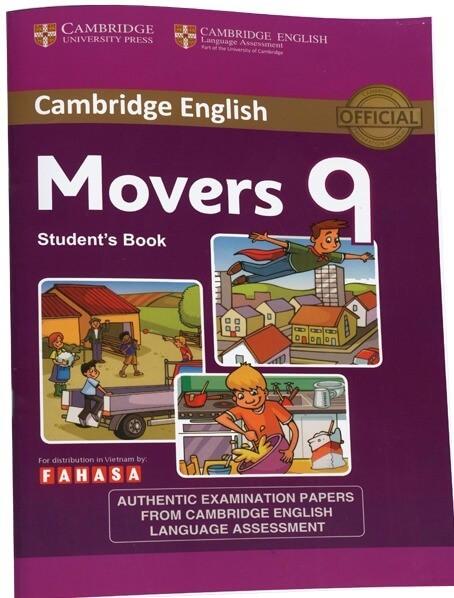 Có những loại sách cambridge movers nào ?