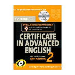 Cambridge Certificate in Advanced English 2 Student's Book