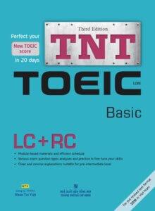 Bìa cuốn sách TNT TOEIC Basic tái bản lần 3 năm 2019