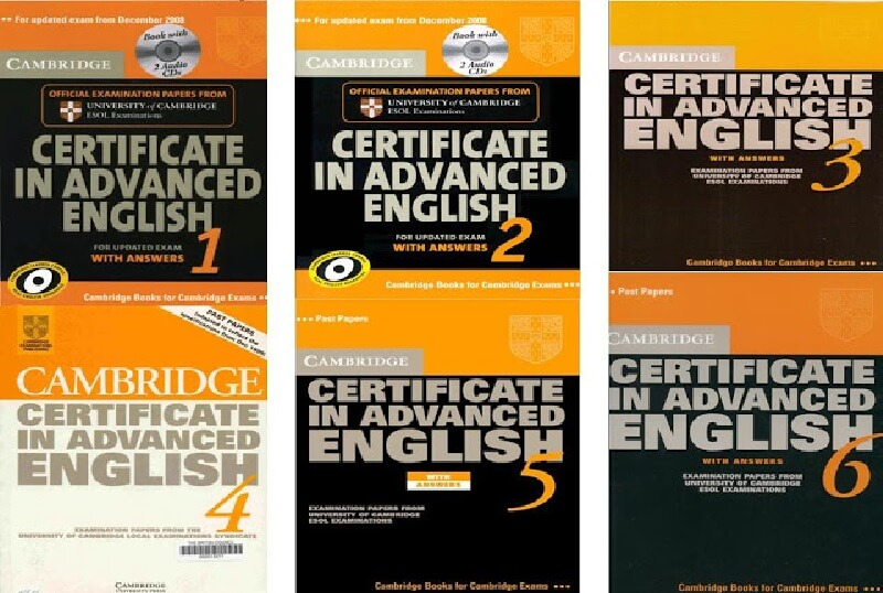 Bộ sách Cambridge Certificate In Advanced English
