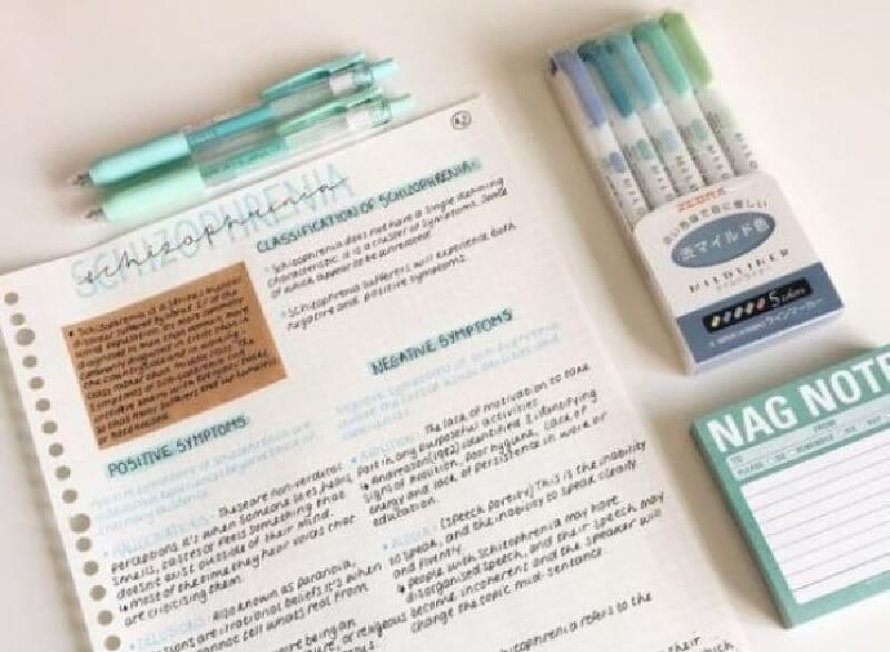 Tô đậm (Highlight), ghi chú các từ vựng, ngữ pháp quan trọng