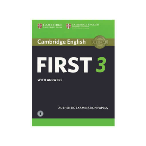 [Sách] First Certificate in English Test 3 - 2018 (in lại)