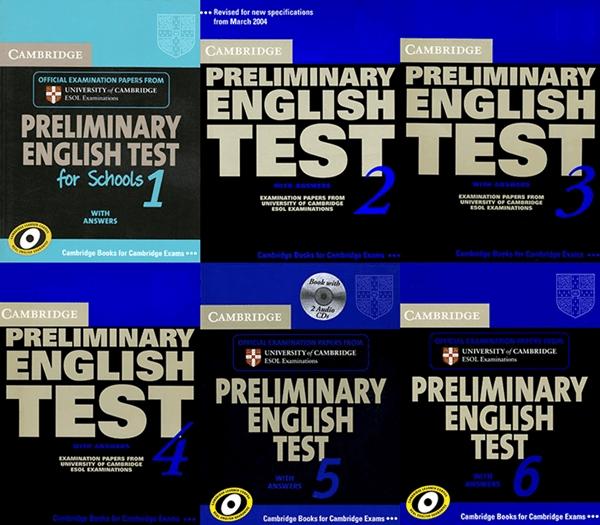 Giới thiệu bộ sách Cambridge Exam PET