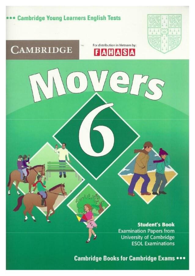 Sách cambridge movers có gì hay?