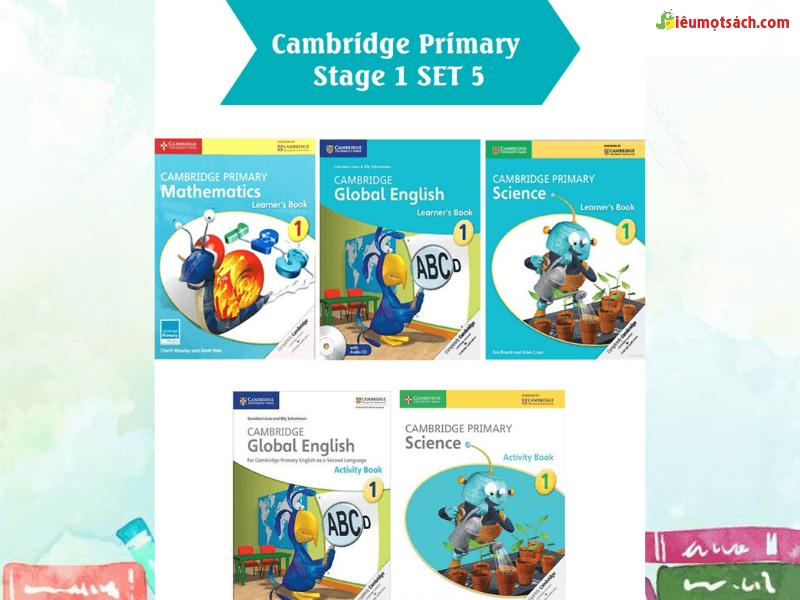Thông tin về bộ sách Cambridge Primary Stage 1