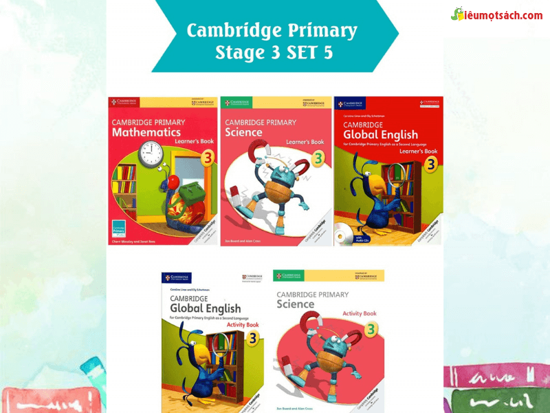Một số quyển sách trong bộ sách Cambridge Primary Stage 3