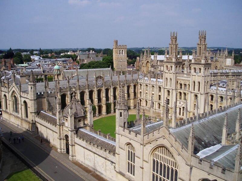 Đại học danh tiếng Oxford