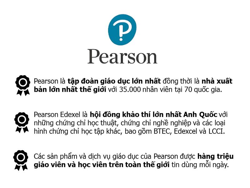Sách nhà xuất bản Pearson có gì nổi bật