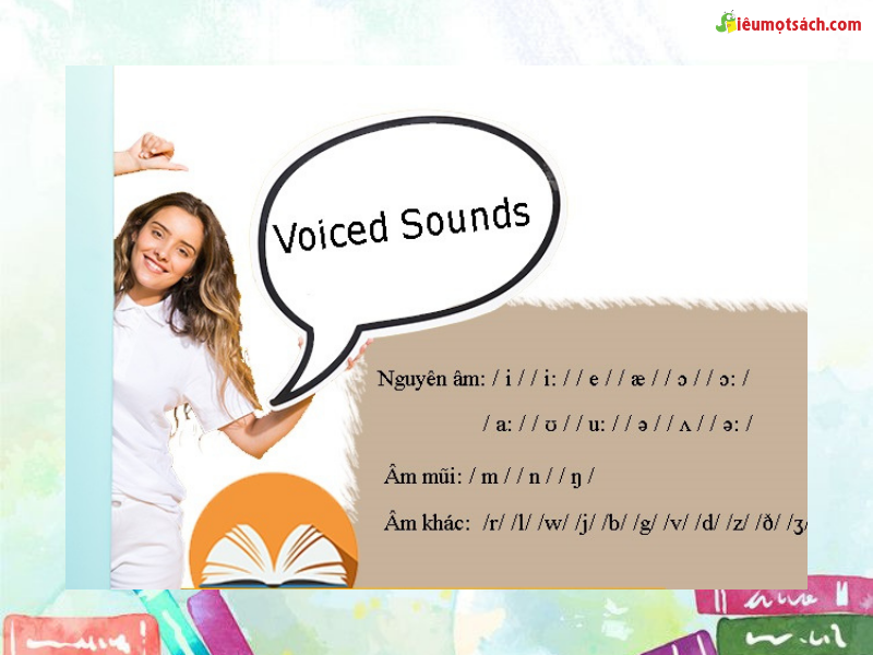 Các âm hữu thanh và vô thanh cũng là những âm không thể thiếu khi sử dụng tiếng Anh