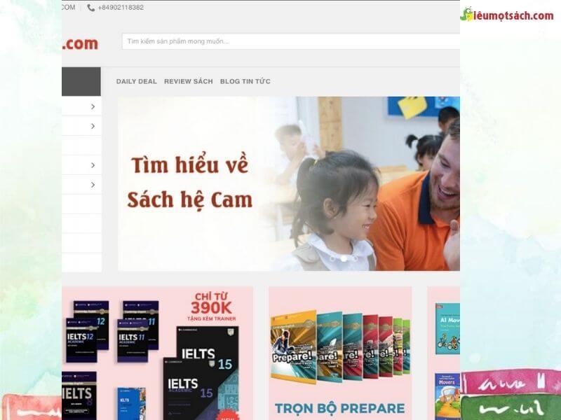 Trang web sieumotsach.com - thế giới sách ngoại ngữ mà bạn cần