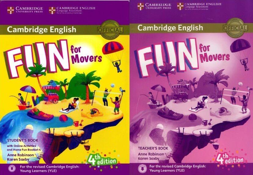 Sách Cambridge Fun for Movers