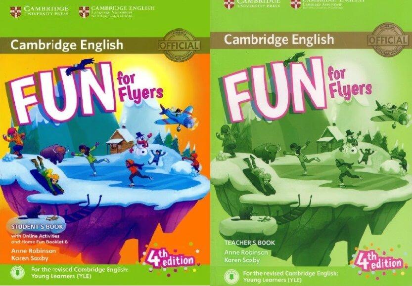 Sách Cambridge Fun for Flyers