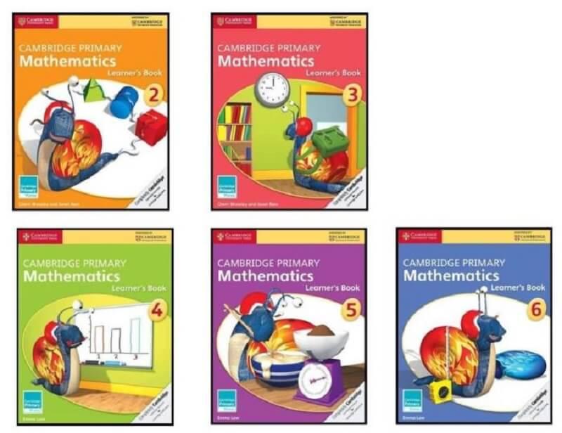 Bộ sách Cambridge Primary Mathematics