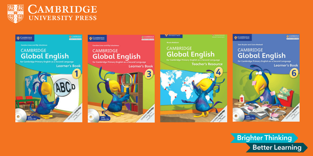 Bộ sách Cambridge Primary English