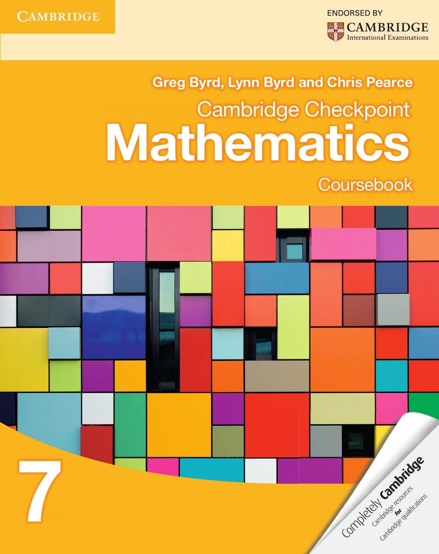 Sách toán học của lớp 7 theo chương trình Cambridge