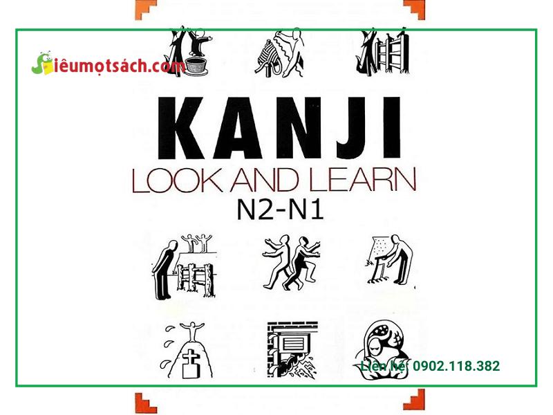 Sách Kanji Look and Learn được nhiều người lựa chọn