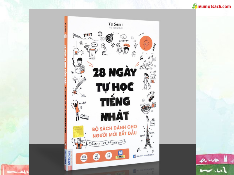 Siêu Mọt Sách giới thiệu 28 ngày tự học tiếng Nhật