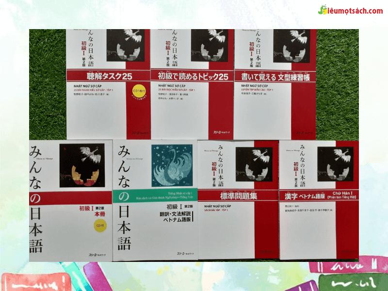 Siêu Mọt Sách giới thiệu Bộ Minna No Nihongo sơ cấp