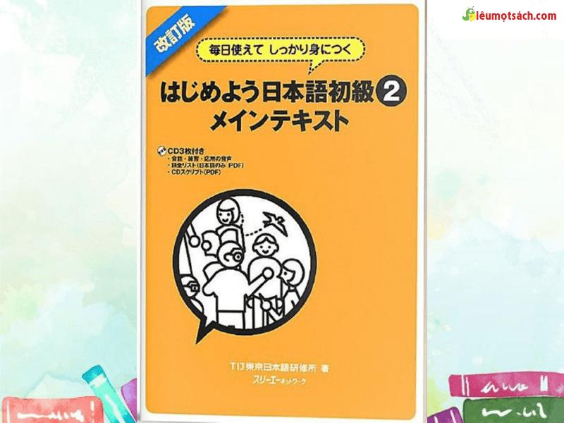 Hajimeyou Nihongo Shokyu Mein Tekisuto (Sách+CD)