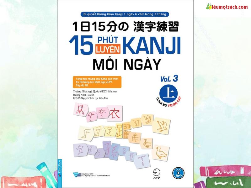 15 phút luyện Kanji mỗi ngày vol 1,2,3,4