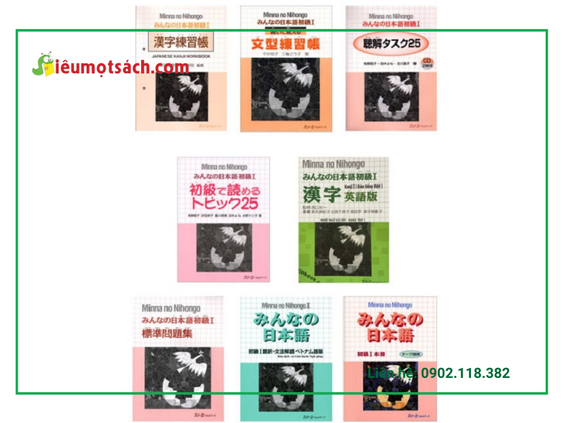 Giáo trình tiếng Nhật Minna No Nihongo I