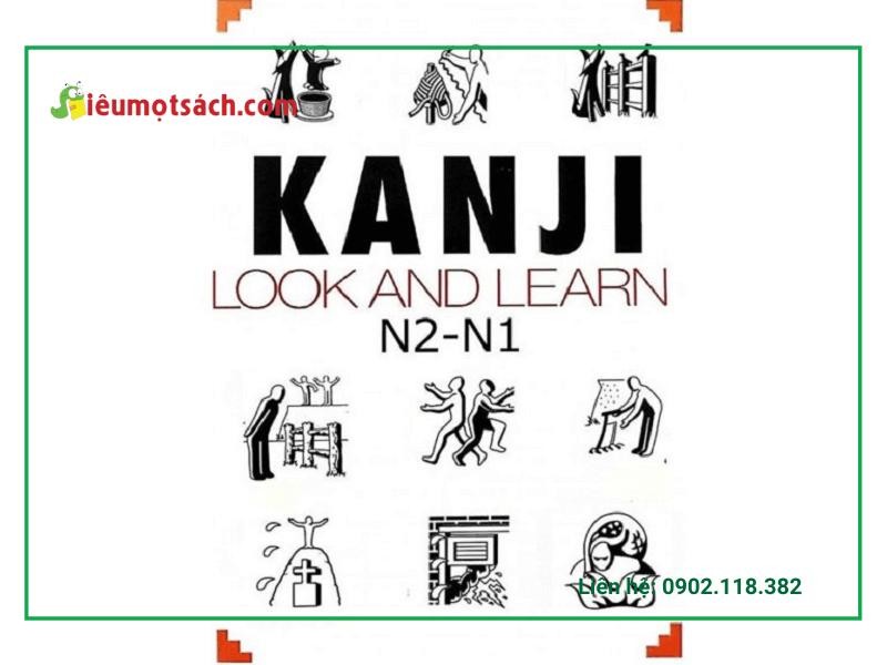 Quyển sách Kanji Look and Learn là có khoảng 600 từ kanji