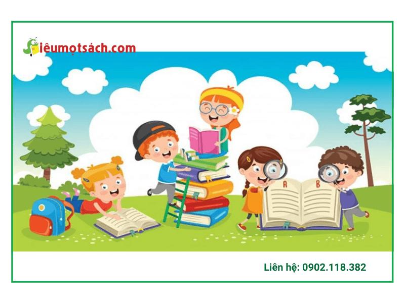 Top 3 quyển sách tiếng anh khoa học hay nhất dành cho trẻ em